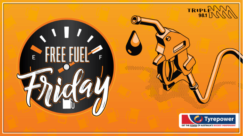 Free Fuel Friday with Tyrepower Geraldton and Tripple M Geraldton